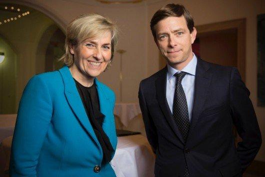 MDR-Intendantin Karola Wille und Boris Lochthofen (Bild: obs/MDR/Hagen Wolf)