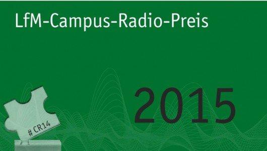 LfM Campus Radio Preis 2015