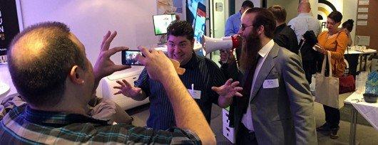 """Umut Dirik, Brian Burgess und """"Rick"""" auf dem #RIC15"""