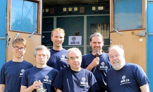 Das Team von Welle 370. Foto: www.welle370.de (cc-by-sa)