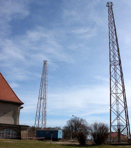 Antennen von Welle 370 in Königs Wusterhausen. Foto: www.welle370.de (cc-by-sa)