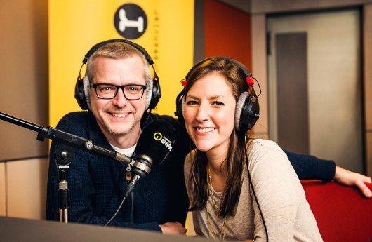 """RADIO BREMEN Bremen Vier Morgenshow-Team Jens-Uwe Krause und Tina Padberg (""""Bild: Michael Ihle/Radio Bremen)"""