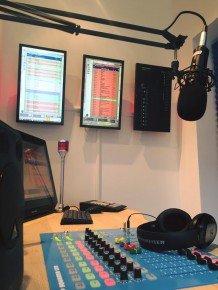 inRadio-Studio von BroadcastRadio.com (Bild: Facebook)