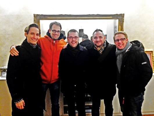 Rüdiger Skoczowsky, Onko Buijs, Paul Fernley (ReelWorld), Oli Kraus and Jan Herold (95.5 Charivari) (Bild: ReelWorld)