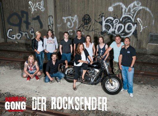 Ende März möchte das Team von Radio Gong 97.1 mit dem längsten Rocksong aller Zeiten Rockgeschichte schreiben. (Bild: Gong 97.1)