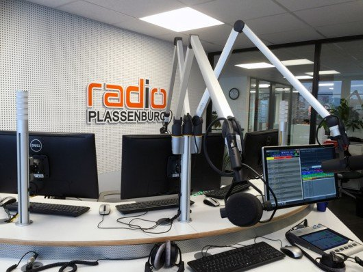 Neues Studio von Radio Plassenburg (Bild: Radio Plassenburg 2016)