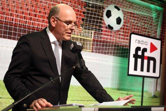 ffn-Neujahrsempfang mit Geschäftsführer Harald Gehrung (Bild: ffn)