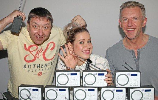 BöFis und Lena sind jetzt auch im Digitalradio zu hören. (Bild: R.SA)