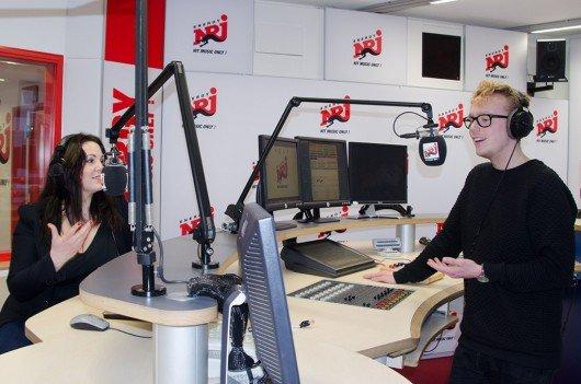 Paula Lambert und Flo Brückner (Bild: ENERGY)