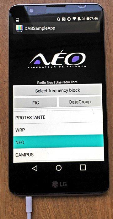 DAB-LGsample-App