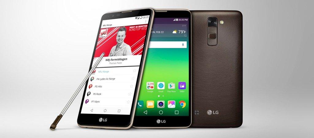 LG Stylus 2 mit DAB+. (Bild: LG)