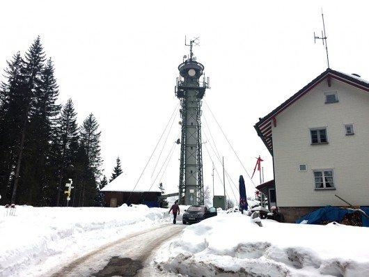 Die UKW-Sendeanlage am Standort Titisee-Neustadt