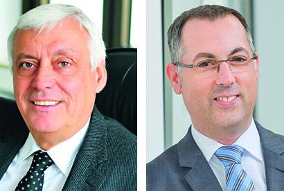 Hans-Jürgen Weske (links) verabschiedet sich in den Ruhestand, Sven Thölen übernimmt die operative Verantwortung. Foto: Funke Mediengruppe