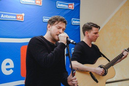 Die deutsche Band Stanfour begeisterte die Gäste mit gefühlvollen Acoustic Songs. Foto: Antenne MV