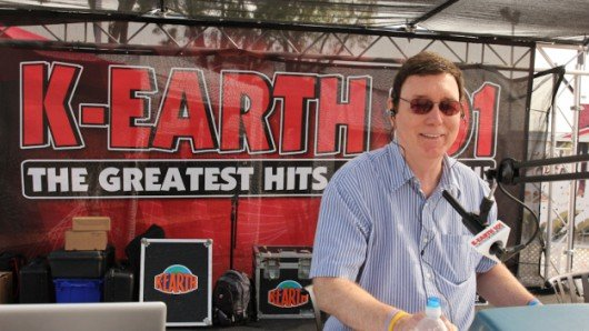 Charlie Tuna bei K-EARTH 101 (Bilf: KRTH.com)