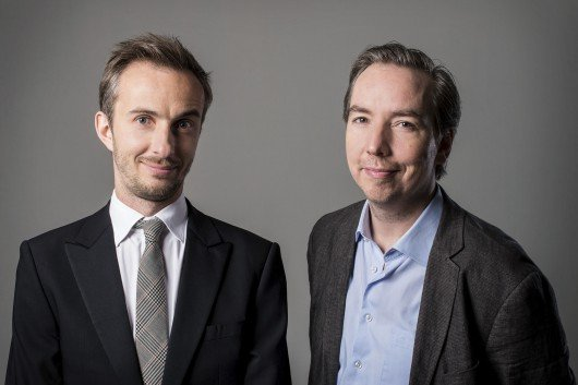 Jan Böhmermann und Olli Schulz (Bild: rbb/Jens Oellermann)