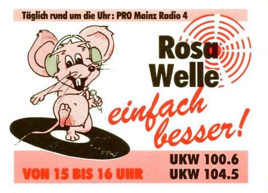 Die-rosa-Welle-PRO-Mainz-Radio4-Aufkleber-Sticker