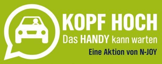 "Logo zur Aktion ""Kopf hoch""-Aktion von N-JOY"