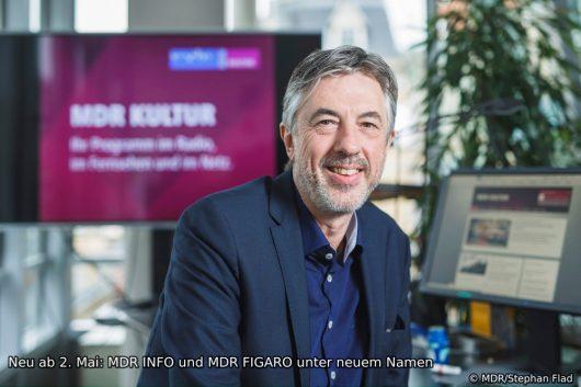 Reinhard Bärenz (Leiter der Hauptredaktion Kultur des MDR) (Bild: © MDR/Stephan Flad)