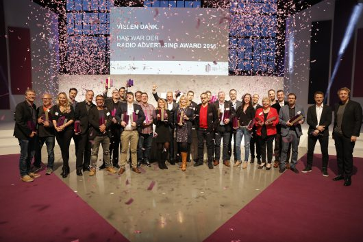 Die Gewinner des Radio Advertising Award 2016