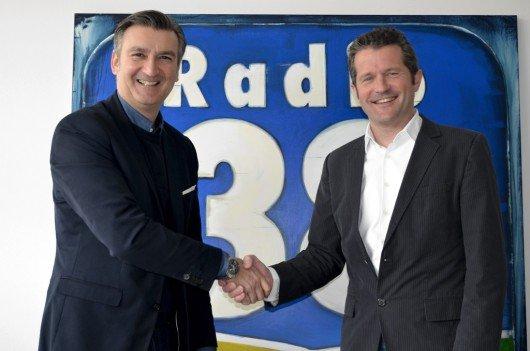 Rüdiger Zinke, Manfred Friesinger (Bild: ©Radio38)