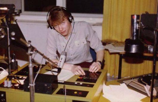 Andreas Dorfmann beim SFB (1981) (Bild: privat)