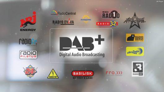 Screenshot aus dem neuen Digitalradio-Werbespot von Privatradios und SRG.