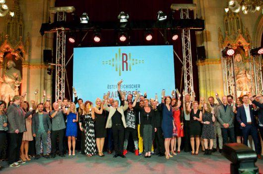 Die Gewinner des Österreichischen Radiopreis 2016 (Bild: ©RADIOSZENE)