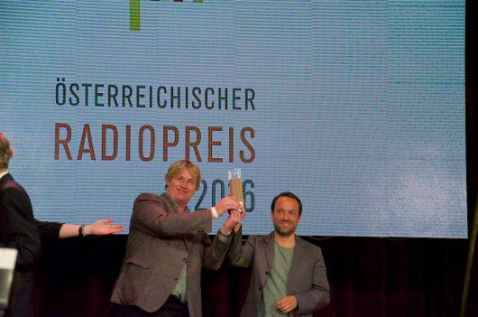 Rüdiger Landgraf und Christian Schalt (Bild: @RADIOSZENE)