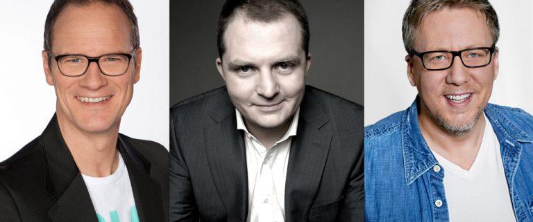Neue Moderatoren bei WDR 2: Andresen, Bug und Thadeusz ab