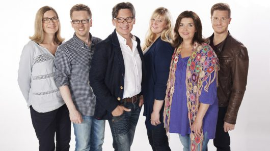 Ute Schneider, Christian Terhoeven, Stefan Verhasselt, Cathrin Brackmann, Heike Knispel und Bastian Bender (Bild: ©WDR/Linda Meiers)