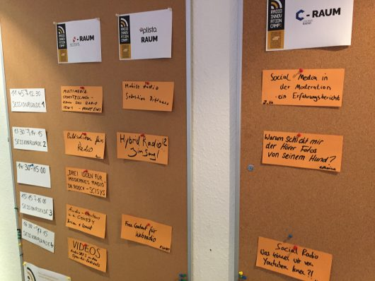Themen des Radio Innovations Camps 2015 (Bild: ©RIC)