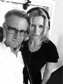 Jan Herold und Veronica Fernes (Bild: 95.5 Charivari)
