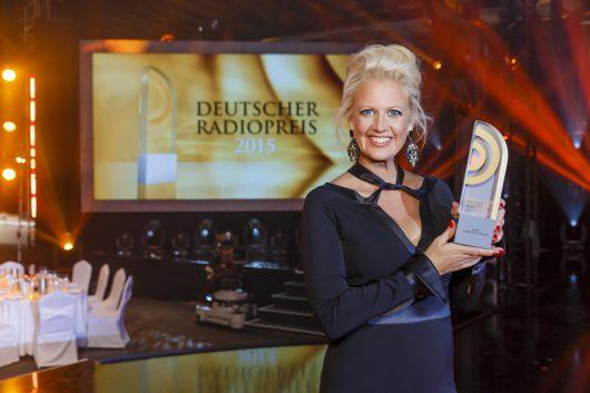 Deutscher Radiopreis-Moderatorin Barbara Schöneberger (Bild: @NDR/Matzen)