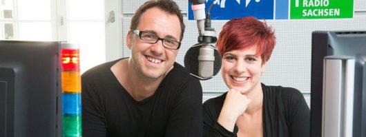 Silvio Zschage und Elena Pelzer (Bild: MDR/Martin Jenischen)