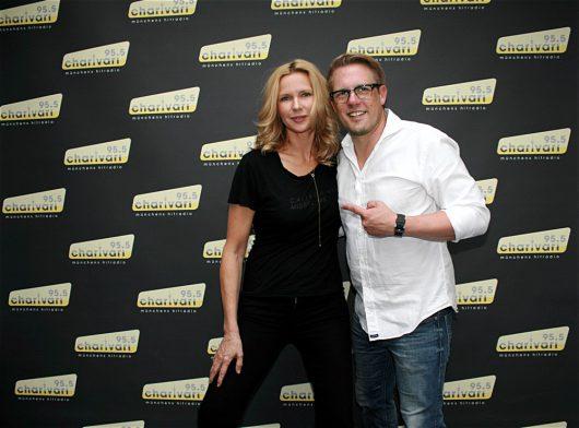 Veronica Ferres und Jan Herold (Bild: 95.5 Charivari)