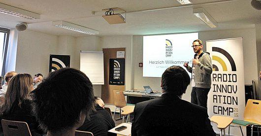 Hannes Mehring auf dem RIC 2015 (Bild: @RIC)
