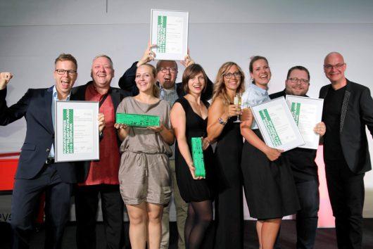 Die Preisträger von R.SA und RADIO PSR (Bild: ©Nico Nickel)