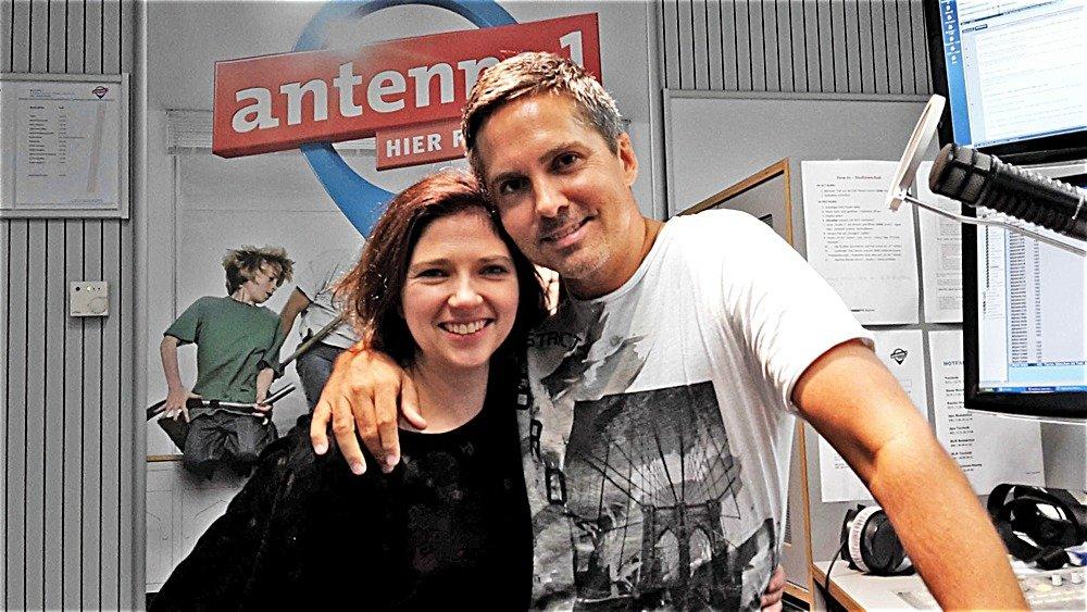 Nadja Gontermann und Oliver Ostermann (Bild: ©antenne 1)