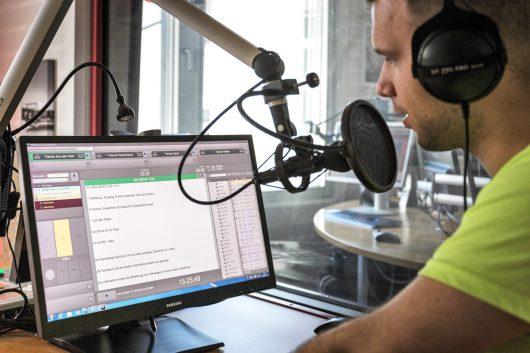 DABiS800 im Einsatz (Bild: © Radio Regenbogen)