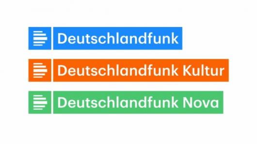 So sehen die neuen Deutschlandfunk-Logos aus