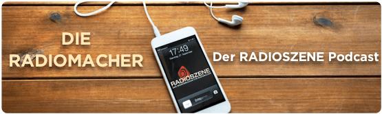 RADIOSZENE-Podcast Kopfgrafik