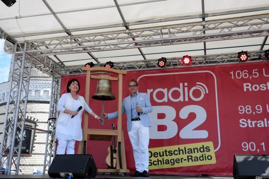 Sendestart von radioB2 in Mecklenburg-Vorpommern (Bild: ©Christian Roedel)