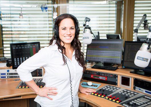 Moderatorin Simone Panteleit vom Berliner Rundfunk 91.4