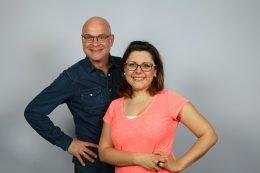 Steffen Lukas und Claudia Switala