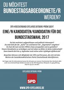 Der Aufruf der SPD im Eifelkreis Bitburg-Prüm