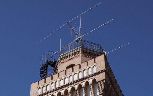 Antennen von Funkstation DL0MLU (Bild: radiorevolten.net)
