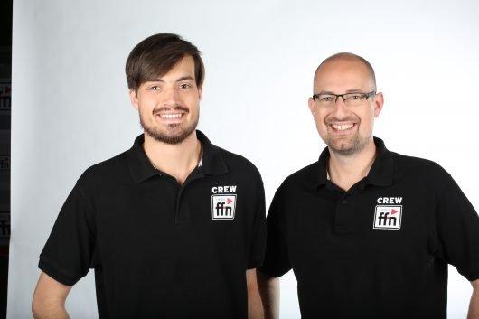 ffn-Redakteure Kai Salander und Markus Grieger