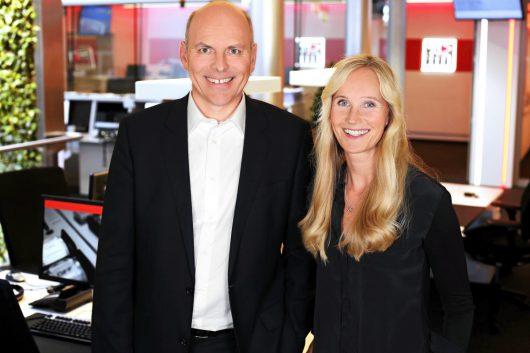 ffn Geschäftsführer Harald Gehrung und ffn-PD Ina Tenz (Bild: ©ffn)