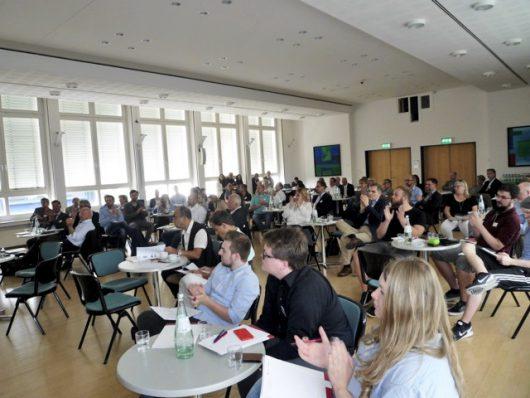 Die Teilnehmer des Medientreff NRW 2016 (Bild: Sascha Fobbe)